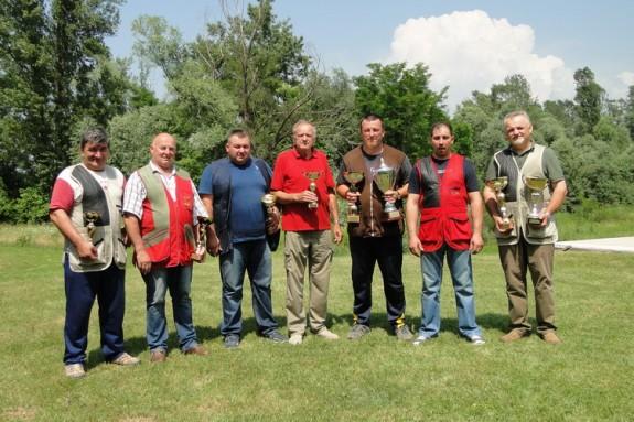 Ekipa lovnog ureda za županijsko prvenstvo