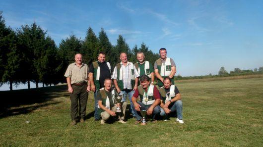 Pobjednička ekipa Lovnog ureda Zaprešić